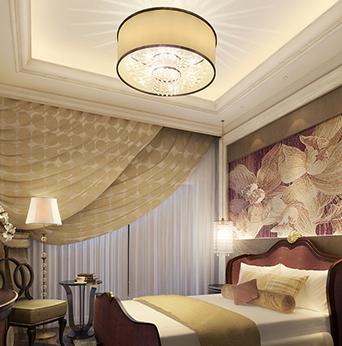 北欧奢华卧室设计